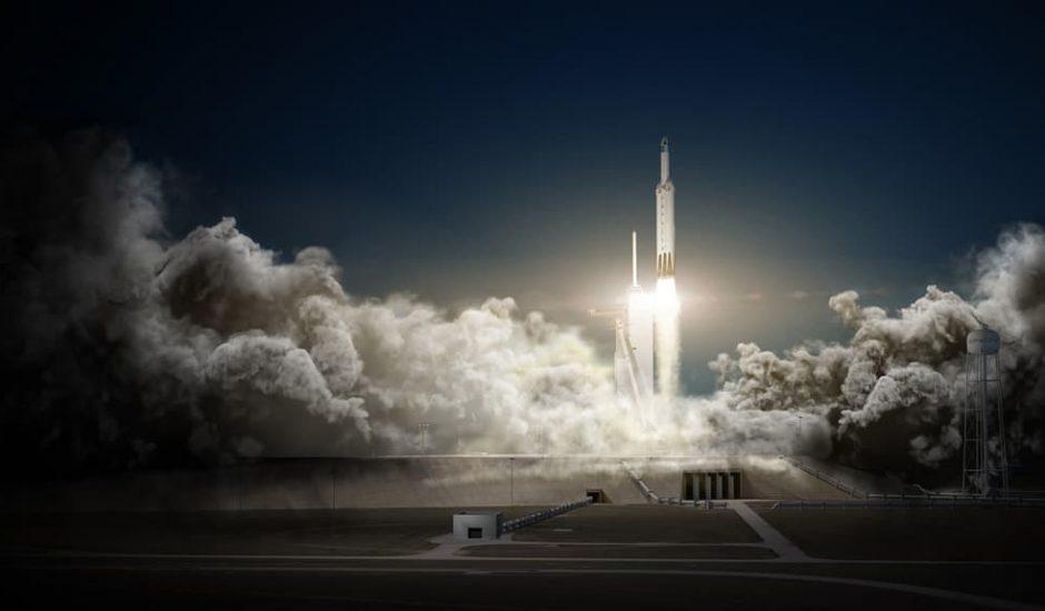 SpaceX Zuma Falcon