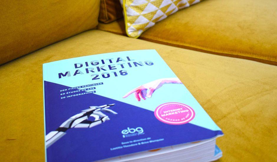 digital marketing 2018 ouvrages à gagner
