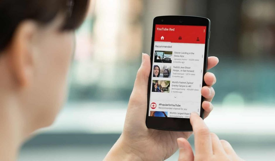 YouTube Red streaming