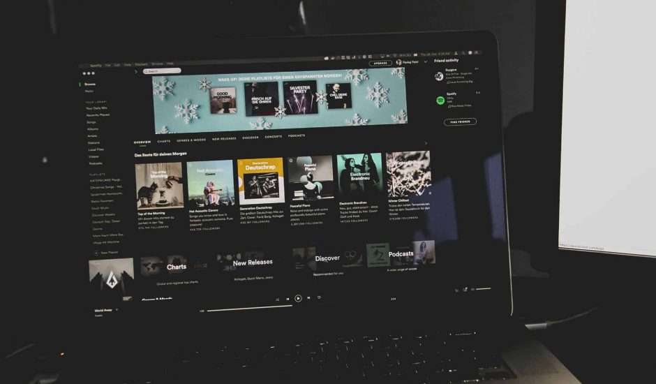 Spotify service streaming
