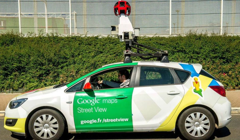 street view collecte de données