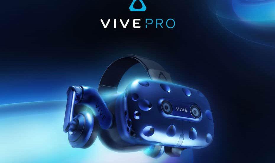 Vive Pro - CES 2018 - VR