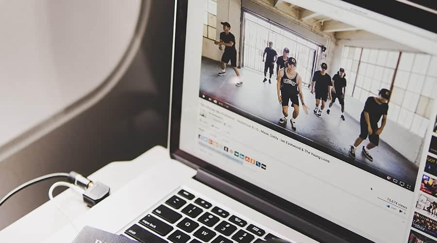 Visionnage de vidéo en ligne