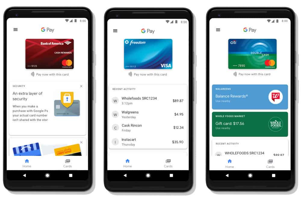 Google Pay, le remplaçant d'Android Pay et Google Wallet est enfin lancé.