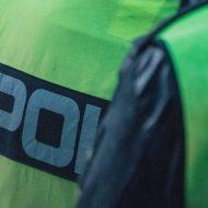 Police britannique empreinte