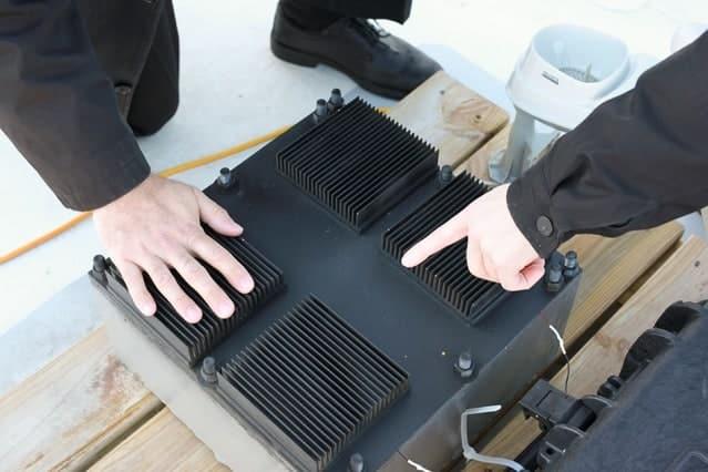 système produisant de l'énergie via le changement de température
