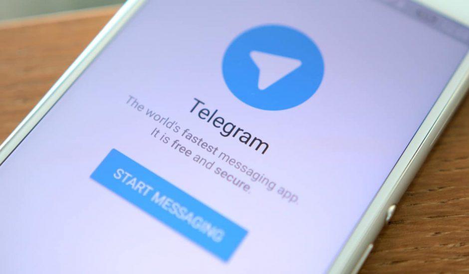 Telegram application