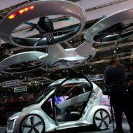 Pop.Up Next voiture volante Airbus Audi Italdesign
