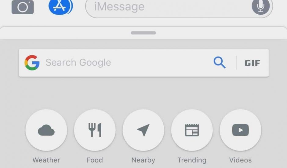 Google iMessage
