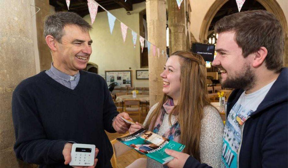 L'église d'Angleterre accepte les paiements par Google et Apple Pay.