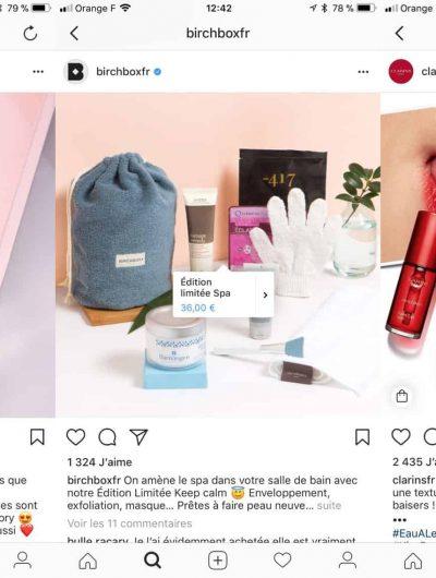 shopping instagram france
