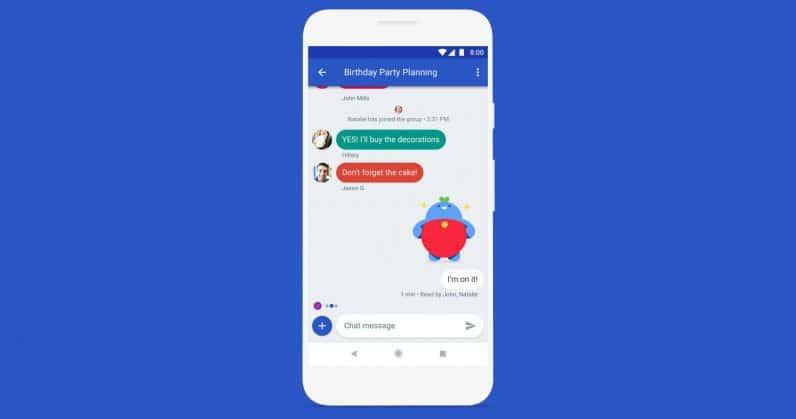 google abandonne son application Allo pour se concentrer sur Chat