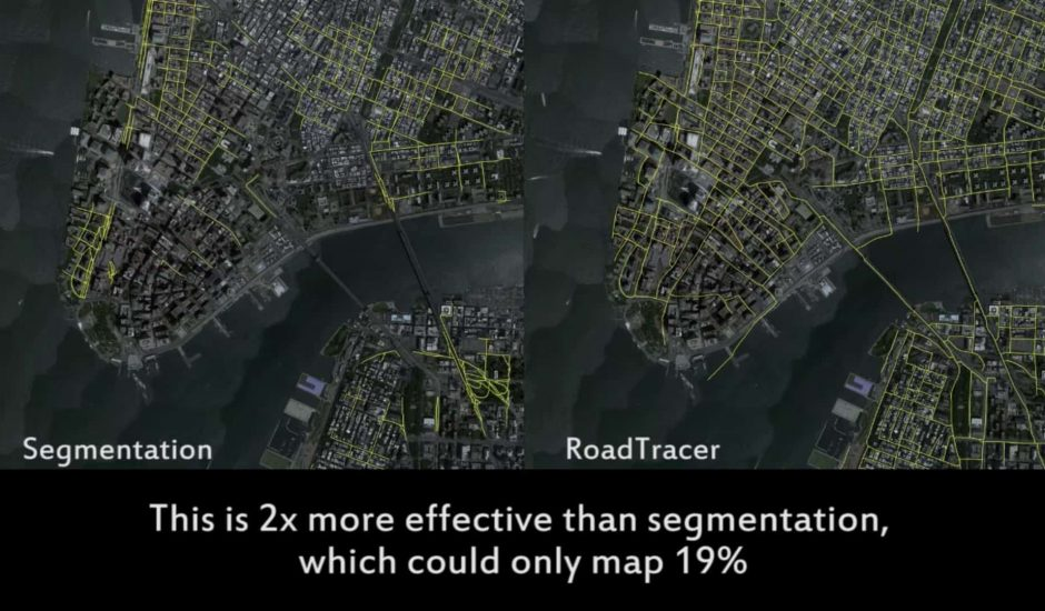 RoadTracer MIT cartographie