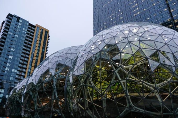 Amazon Spheres va s'ouvrir au grand public