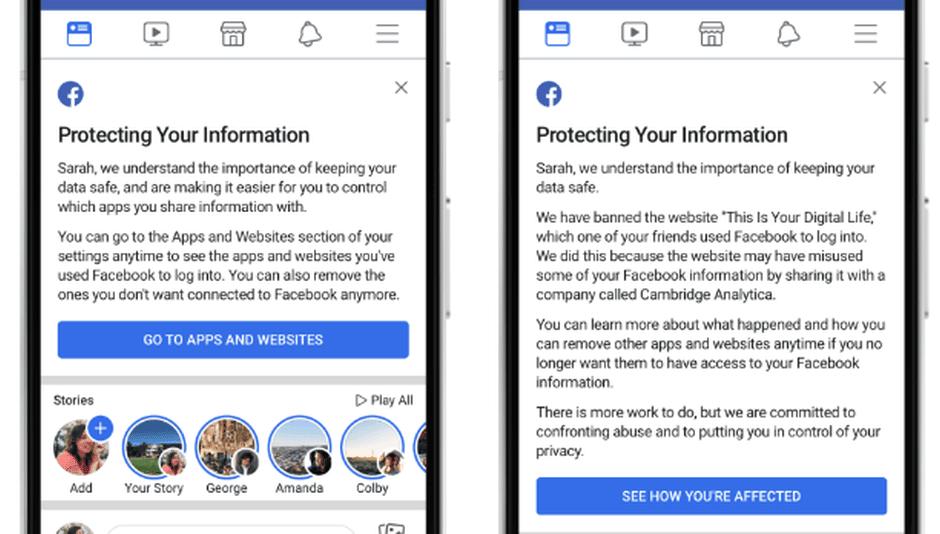 Facebook données Cambridge Analytica