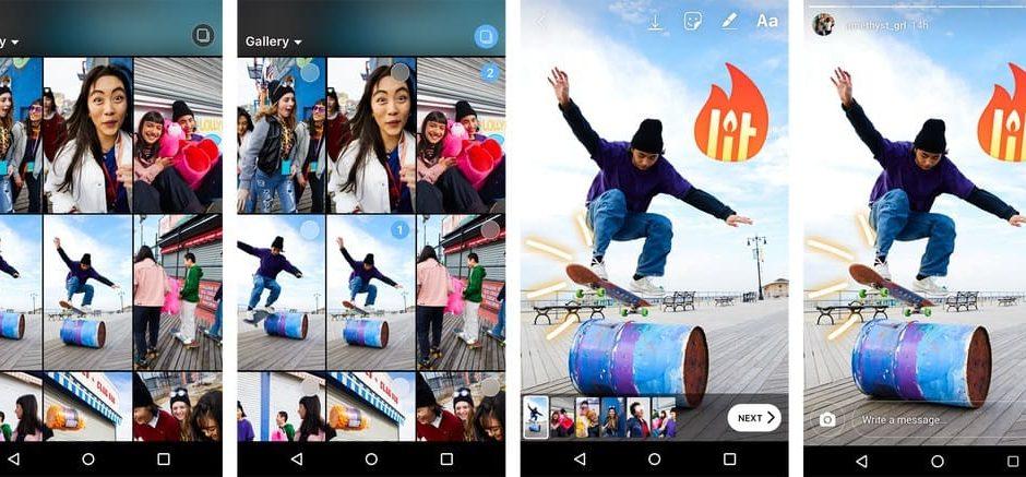 Instagram rend plus simple le téléchargement de plusieurs photos et vidéos dans vos Stories