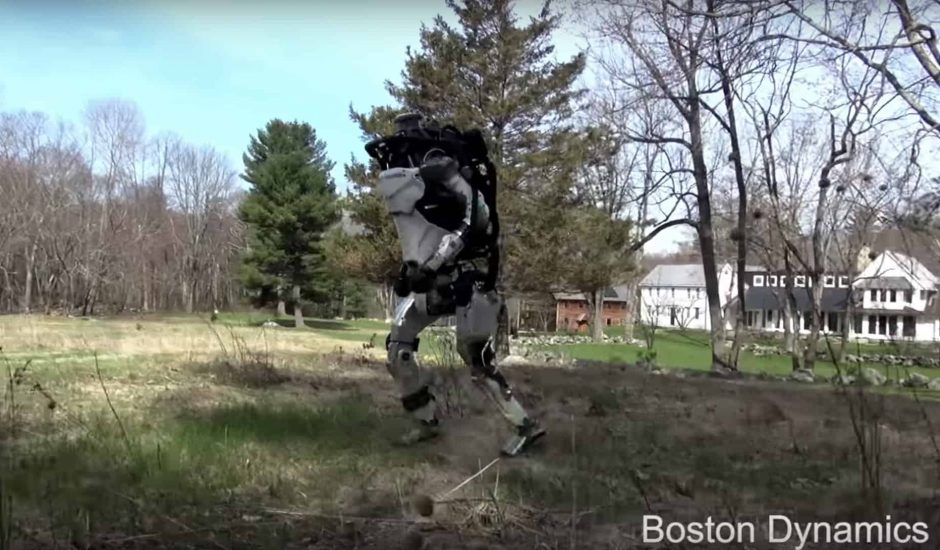 Atlas, le robot de Boston Dynamics fait son jogging comme vous