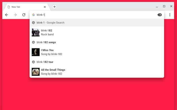 Google barre de recherche