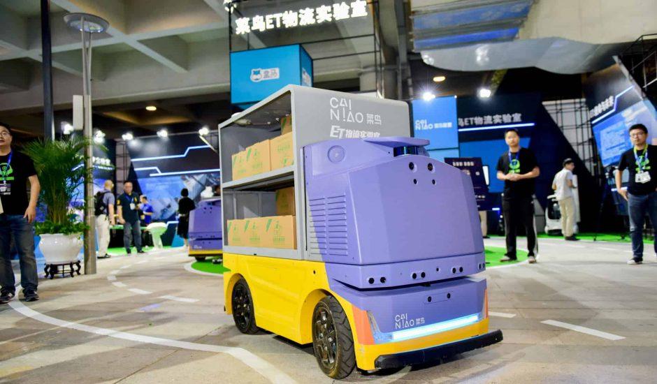 Alibaba robot livraison