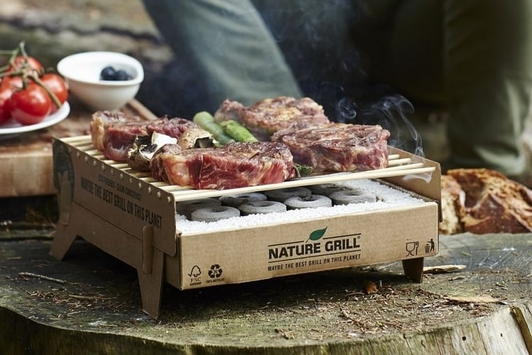 Casus Grill : le barbecue écologique et à usage unique
