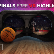 Suivez les finales de NBA en VR