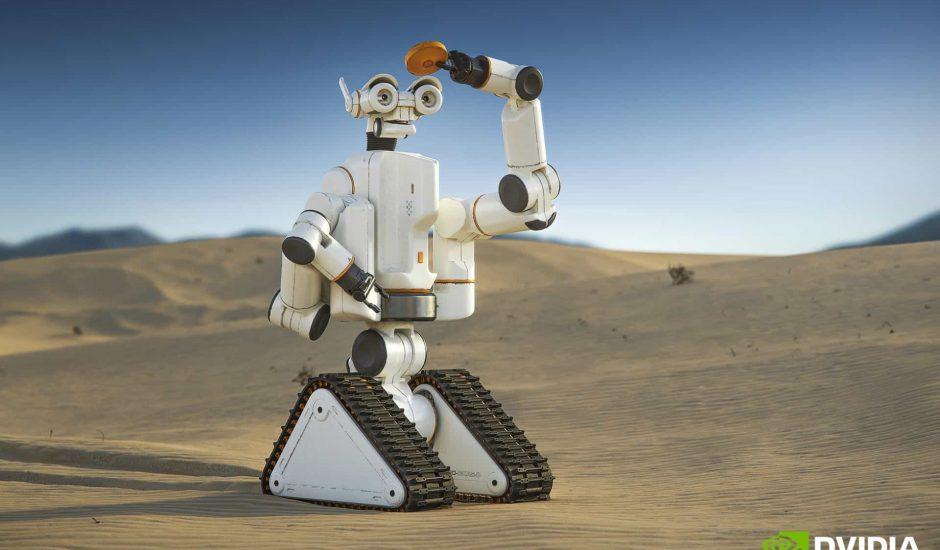 Nvidia présente Isaac, sa nouvelle plateforme d'intelligence artificielle