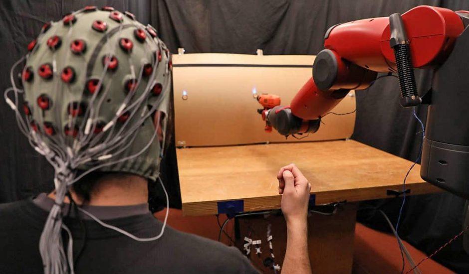 un robot qui se contrôle intuitivement en test au MIT