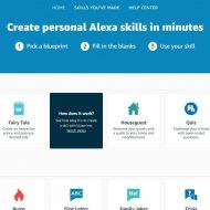 skills personnalisées Amazon Alexa