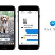 Facebook Stories sondage