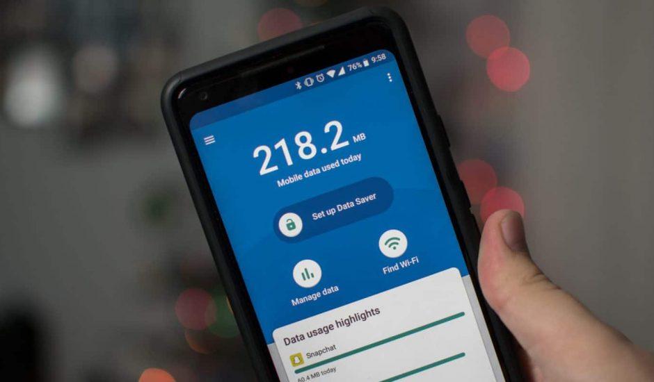 Surveiller les données utilisées par un smartphone avec Datally
