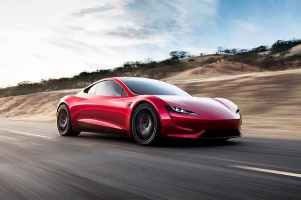 Les prochaines Tesla Roadster intégreront des réacteurs de fusées