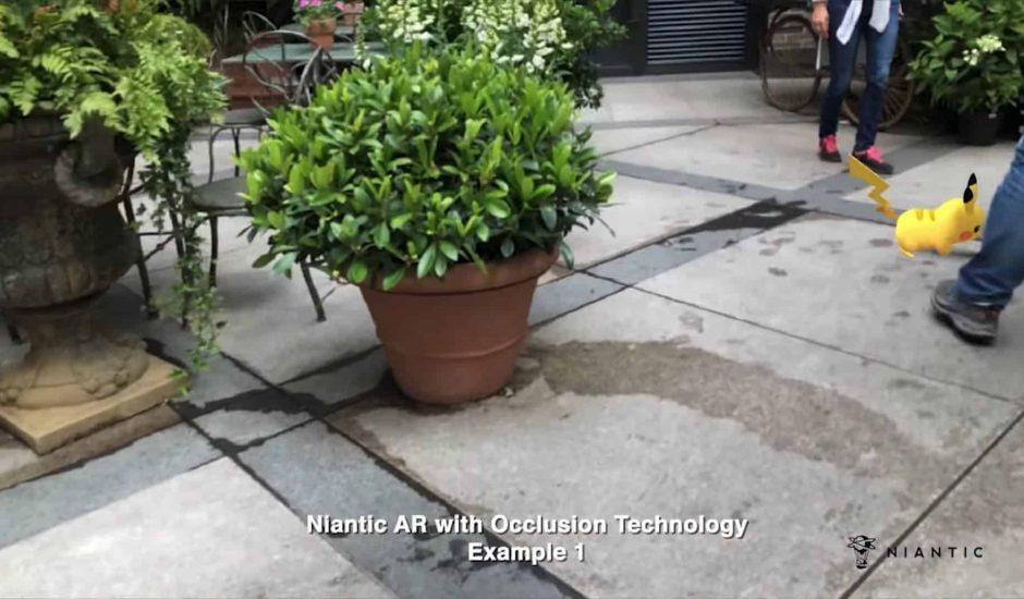 Niantic occlusion