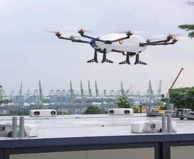 drones Singapour
