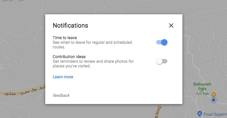 Google Maps retards