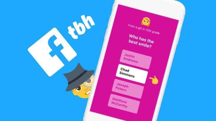 Facebook annonce la fermeture de plusieurs applications, dont TBH rachetée en octobre dernier