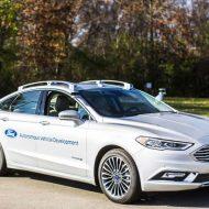 division Ford Autonomous Vehicles