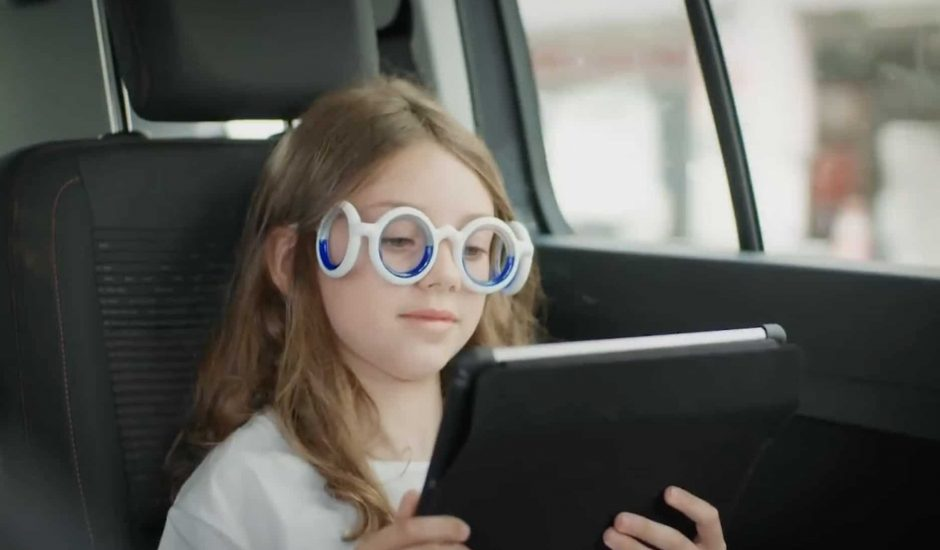 Citroën dévoile ses lunettes qui évite le mal des transports