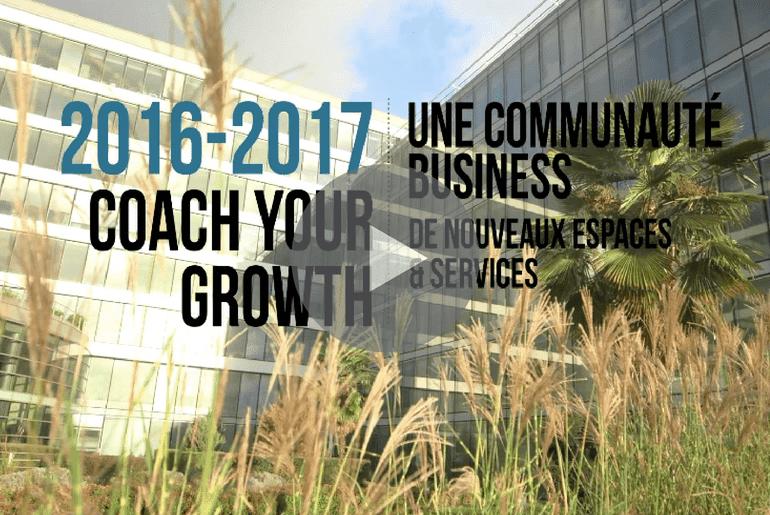 projet Coach Your Growth with Icade dans les parcs d'affaires