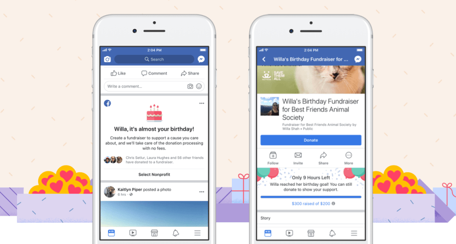 Facebook collecte 300 millions de dollars pour les associations