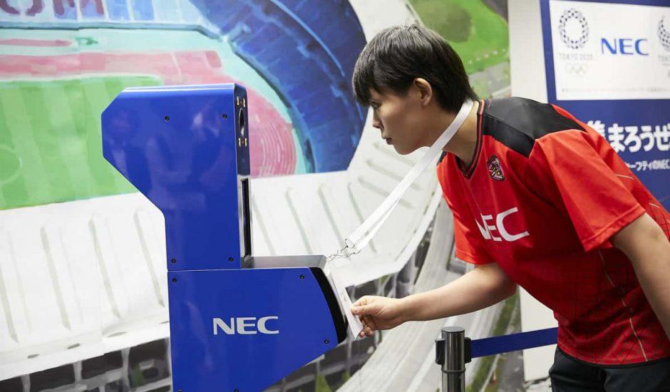 NEC reconnaissance faciale