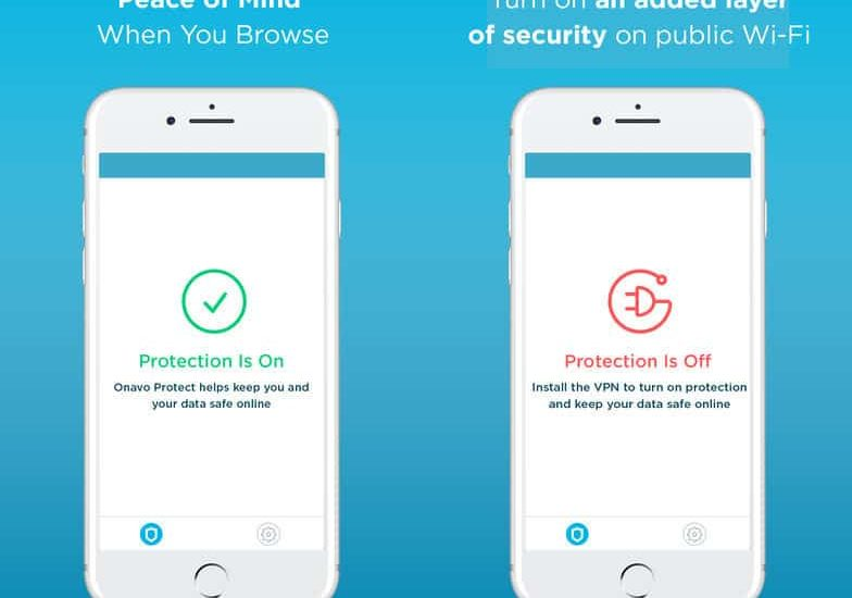 Application Onavo Protect retirée