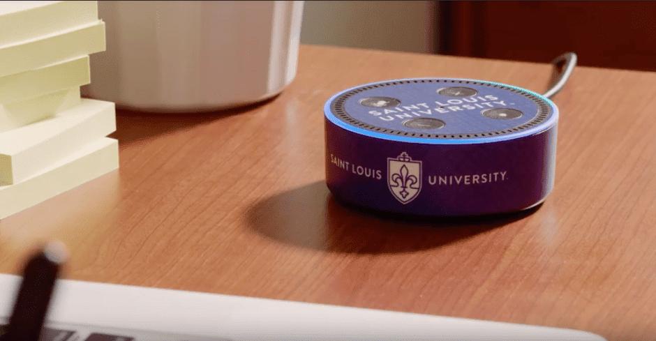 campus américain de Saint-Louis équipé en Amazon Echo Dot