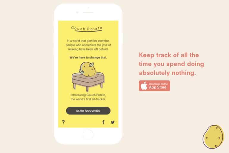 Couch Potato est une application qui permet de traquer le temps que vous passer sur votre canapé