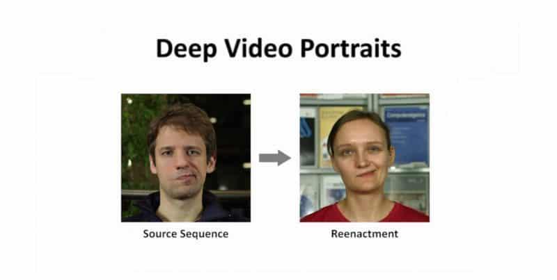 Presentation Deep Video Portraits