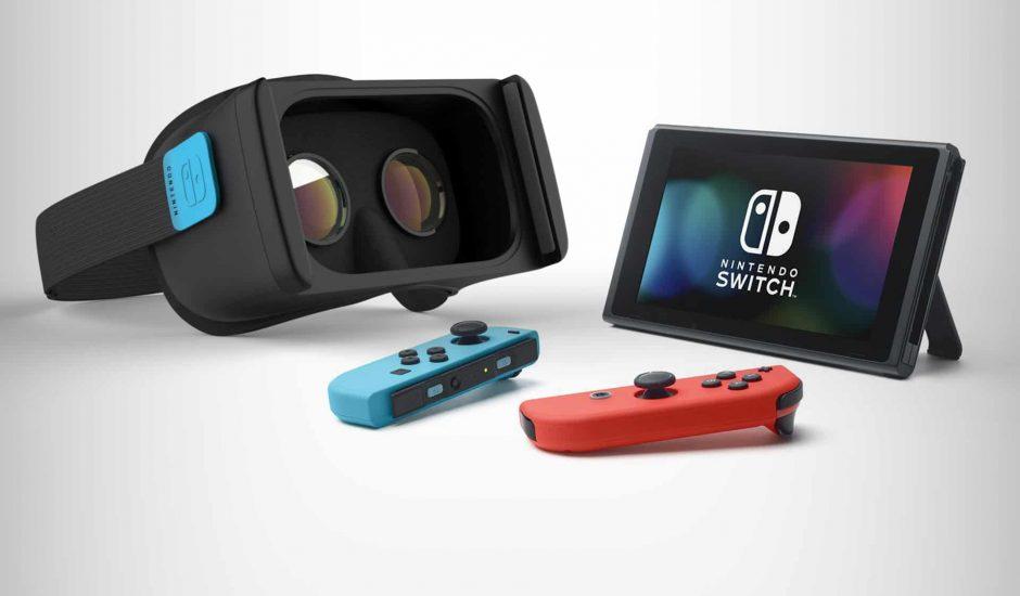 Un mode réalité virtuelle a été caché dans l'OS de la Switch par Nintendo