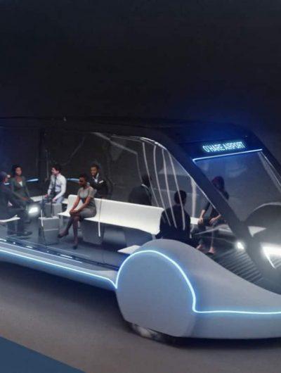 Projet navette électrique stade Dodgers