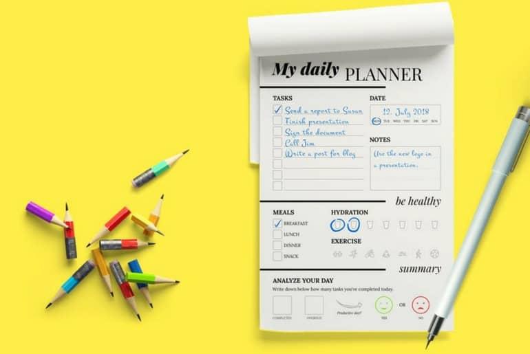 outil pour organiser sa journée