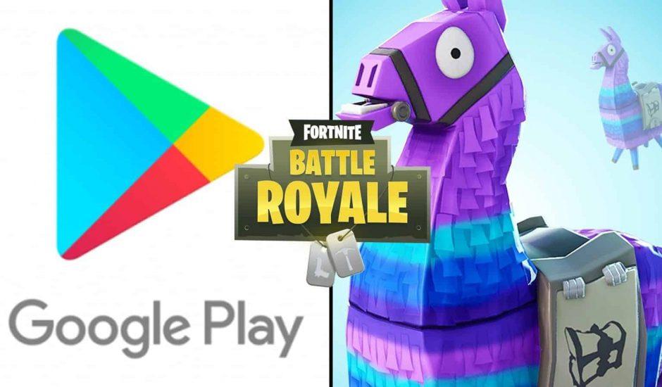 Fornite ne sera pas disponible sur Google Play Store