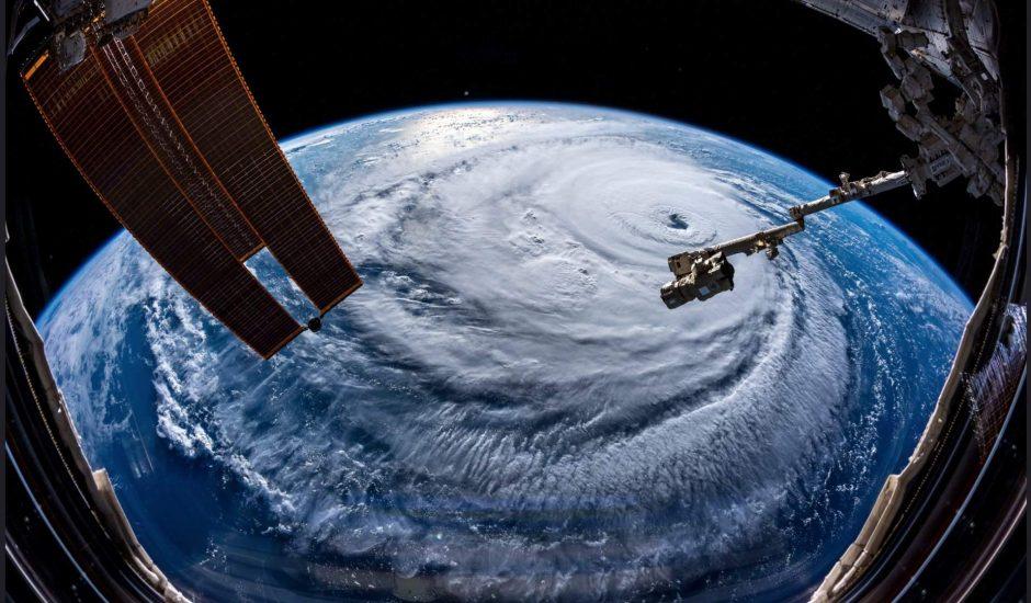 Ouragan Florence NASA