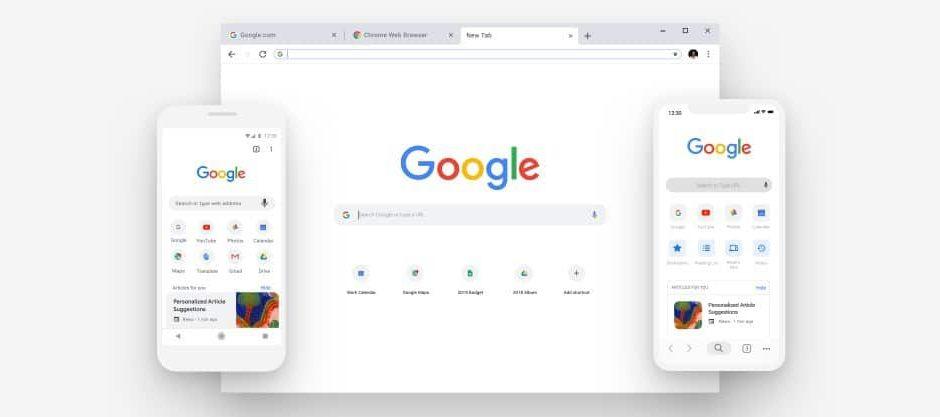 Nouveau Google Chrome